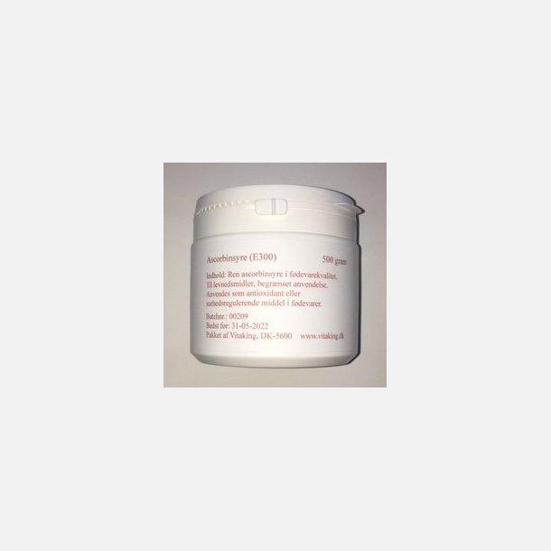 Ascorbinsyrepulver, 500 gram