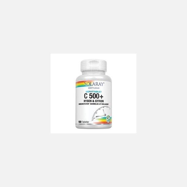 C500+, Hyben, Citron, 180 tabletter