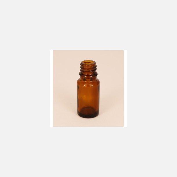 Bottle in brown glass, 10 ml