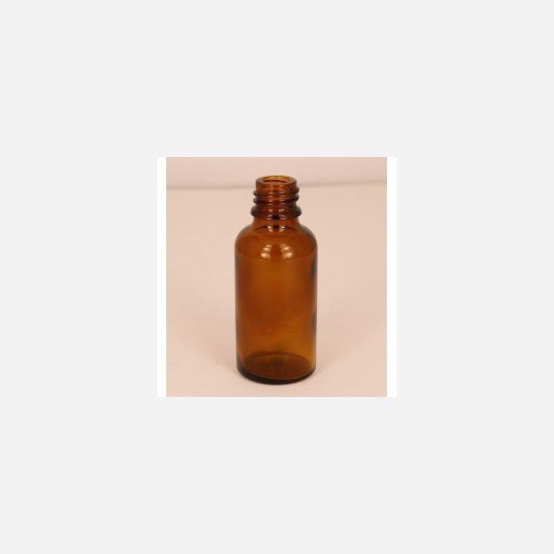 Bottle in brown glass, 30 ml