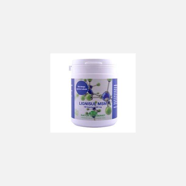 MSM, 500 mg, 180 capsules