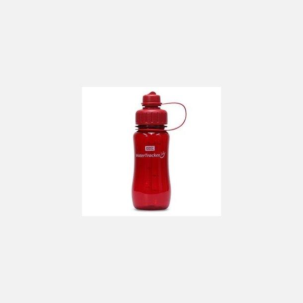 WaterTracker drikkedunk, rød, ½ liter